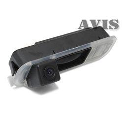 CCD штатная камера заднего вида для Ford Focus III (2011-...) (интегрированная с ручкой багажника) (Avis AVS321CPR (#015))