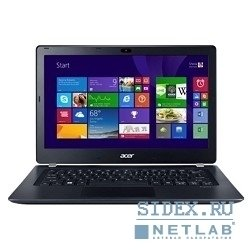 "ноутбук acer aspire v3-371-31c2 core i3 4005u, 4gb, 500gb, 13.3"", hd, windows 8.1, black, grey, wifi, bt, cam[nx.mpger.009]"