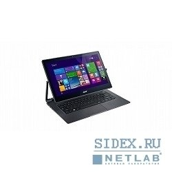 "ноутбук acer aspire r7-371t-55xh core i5 5200u, 4gb, ssd256gb, 13.3"", touch, fhd, windows 8.1, dk.grey, wifi, bt, cam [nx.mqqer.007]"
