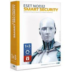 ESET NOD32 Smart Security продление лицензии 3ПК на 1 год (NOD32-ESS-RN(BOX3)-1-1)