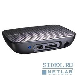 "медиаплеер hd media player asus ""oplay mini plus"" 1080p,  in: 2xusb2.0,  1x esata,  card reader 4x1,  1xgbl,  1xwifi 802.11 b, g, n out: composite video+audio,  s, pdif,  hdmi 1.3,  remote control"