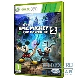 игры disney epic mickey: две легенды (русская версия)