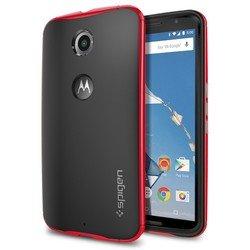 Чехол-накладка для Google (Motorola) Nexus 6 Spigen Neo Hybrid (SGP11240) (красный)