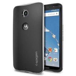 Чехол-накладка для Google (Motorola) Nexus 6 Spigen Neo Hybrid (SGP11239) (серебристый)