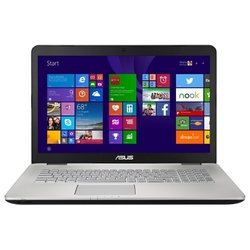 "asus n751jk (core i7 4710hq 2500 mhz/17.3""/1920x1080/8.0gb/1128gb hdd+ssd/blu-ray/nvidia geforce gtx 850m/wi-fi/bluetooth/dos)"
