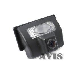 CCD штатная камера заднего вида для Nissan Teana, Tiida Sedan, Geely Vision (Avis AVS321CPR (#064))