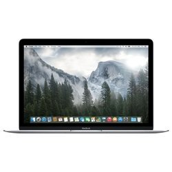 "apple macbook early 2015 (core m 1100 mhz/12.0""/2304x1440/8.0gb/256gb ssd/dvd нет/intel hd graphics 5300/wi-fi/bluetooth/macos x) (mf855ru/a) (серебристый)"