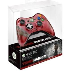 microsoft xbox 360 wireless controller chrome series (43g-00046) (����� tomb raider)