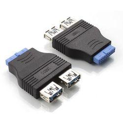 ���������� 2xusb 3.0 - 20-pin (greenconnect gc-2u3am20)