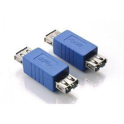 Адаптер USB 3.0 (f) - USB 3.0 (f) (Greenconnect GC-U3AF2F1)