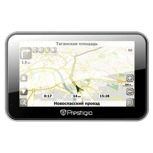 Портативный GPS-навигатор Prestigio GeoVision 5068 (PGPS5068CIS04GBPG) - фото 7