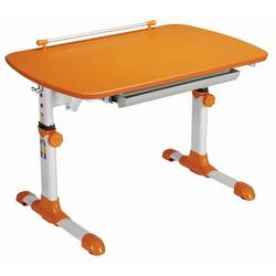 Стол детский Бюрократ Conductor-06, Orange столешница:оранжевый ЛДСП 94x60x57см