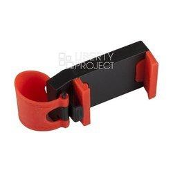 Универсальный автомобильный держатель S045 (Liberty Project R0007208) (черный, красный)