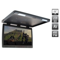 Потолочный автомобильный монитор Avis AVS2220MPP (черный)