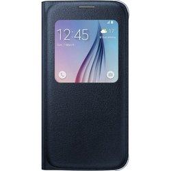 �����-������ ��� Samsung Galaxy S6 (Samsung S View Cover EF-CG920PBEGRU) (������)