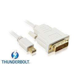 Кабель mini Displayport - DVI (Greenconnect GC-MDP2MDVI-1.8m)