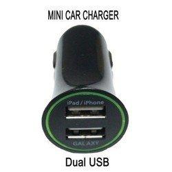 Автомобильное зарядное устройство для Apple iPad, iPhone и Samsung Galaxy Orient USB-2220AN (черный)
