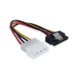Кабель Molex 4pin - SATA 15pin (Greenconnect GC-ST503)