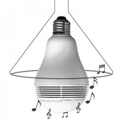 Светодиодный динамик лампа Mipow Playbulb Lite (BTL100S)