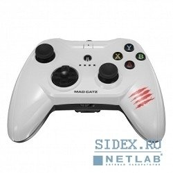 ������� pc ������� mad catz c.t.r.l.i mobile gamepad - gloss white ��� iphone � ipad (mcb312630a01, 04, 1)