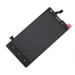 Дисплей для Huawei Ascend G700 с тачскрином (R0003961) (чёрный)