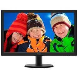philips 243v5qhaba/00 (черный)
