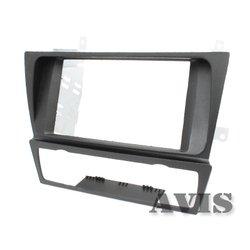 Переходная рамка для BMW 3 (E90, E91, E92, E93 в комплектации без штатной навигационной системы) (AVIS AVS500FR (#006)) (черный)