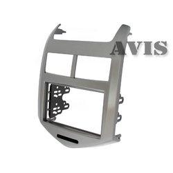 Переходная рамка для Chevrolet Aveo (AVIS AVS500FR (#010)) (серый)