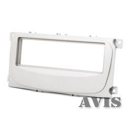 Переходная рамка для Ford C-MAX (2007г.в.-н.в.), Focus 2, Galaxy 2, Mondeo 4 (2007-2011г.в.), S-MAX (2008-н.в.) (AVIS AVS500FR (#019)) (светло-серый)