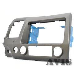 Переходная рамка для Honda Civic 8 (AVIS AVS500FR (#029)) (серый)