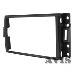 Переходная рамка для Hummer H3 (AVIS AVS500FR (#033)) (черный)