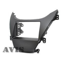 Переходная рамка для Hyundai Elantra (2011-...) (AVIS AVS500FR (#034)) (черный)