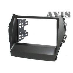 Переходная рамка для Hyundai Santa FE III (2012-...) (AVIS AVS500FR (#046)) (черный)