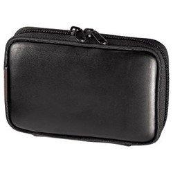 """Кожаный чехол для навигаторов 3.5"""" (Hama NaviBag S1 H-88509) (черный)"""