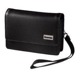 """Кожаная сумка для навигаторов 4.3"""" (Hama Black&White S2 H-93758) (черный)"""