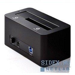 "Док-станция для HDD 3.5"", 2.5"" ORICO 6619US3-BK (черный)"