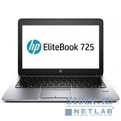 "ноутбук hp elitebook 725 g2 [f1q18ea#acb] 12.5"" hd a8-7150b, 4gb, 500gb, r5, cam, bt, wifi, 3g, w7pro+w8pro"