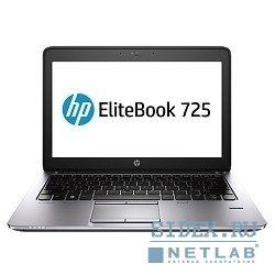 "ноутбук hp elitebook 725 g2 [f1q16ea#acb] 12.5"" hd a10-7350b, 8gb, 256gb ssd, r6, cam, bt, wifi, w7pro+w8pro"