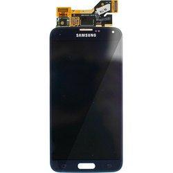 Дисплей для Samsung Galaxy S5 G900F с тачскрином полный комплект в сборе (TOP-SG-S5-B) (черный)