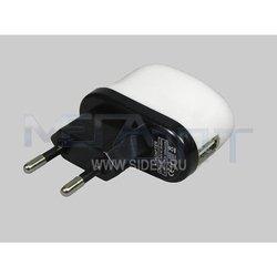 Универсальное сетевое зарядное устройство USB (12908)
