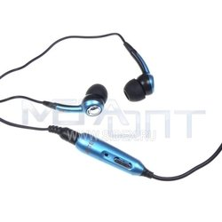 гарнитура axtel for sonyericsson w810 blue в колбе