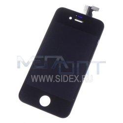 Дисплей для Apple iPhone 4S модуль в сборе (12206) (черный)