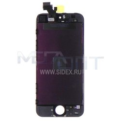 дисплей для apple iphone 5 (14101) (черный)