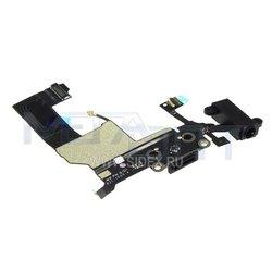 Шлейф для Apple iPhone 5 в сборе (14116) (черный)
