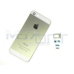 Крышка аккумулятора для Apple iPhone 5S (15688) (золотистый)
