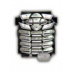 Клавиатура для Motorola C350 (1407) (серебристая)