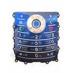 Клавиатура для Motorola L7e (13128) (синяя)
