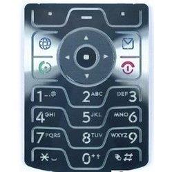 Клавиатура для Motorola V3 (12355) (русские буквы)
