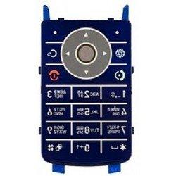 Клавиатура для Motorola К1 (14280) (синяя)