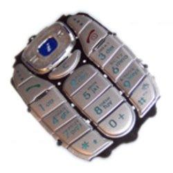 Клавиатура для Samsung X480 (14351) (серебристая)
